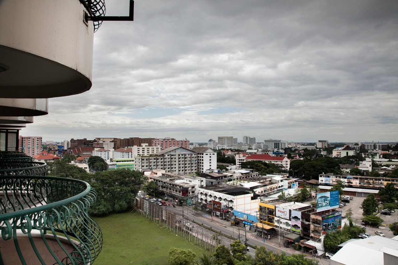 View from residential area of Chiang Mai